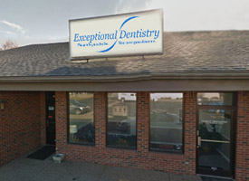 Outside view of Exceptional Dentistry in Louisville